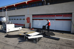 #5 Toyota Racing Toyota TS050 Hybrid is preparing