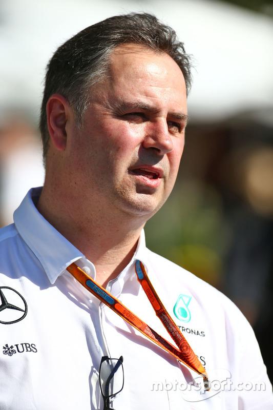 Ron Meadows, Mercedes GP Team Manager