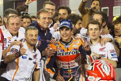 Derde plaats Marc Marquez, Repsol Honda Team
