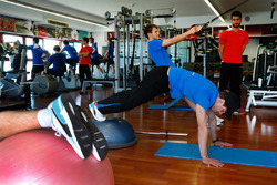 Augusto Farfus and Marco Wittmann, Cirucuit Training