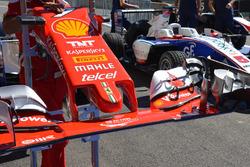 L'ala anteriore della Ferrari SF16-H
