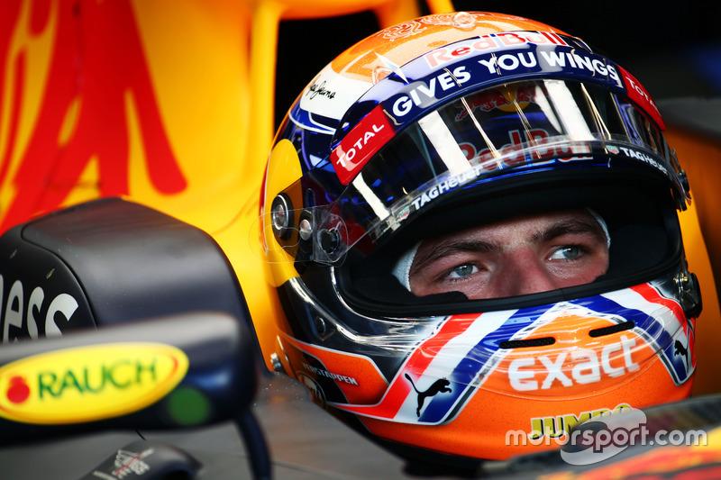 Belgique 2016 - Max Verstappen, Red Bull