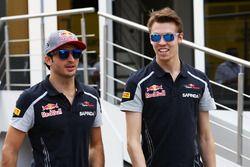 Carlos Sainz Jr, Scuderia Toro Rosso avec Daniil Kvyat, Scuderia Toro Rosso