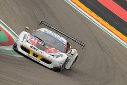 #71 AF Corse, Ferrari F458 Italia GT3: Felipe Barreiros, Mads Rasmussen