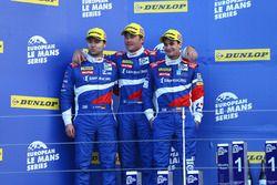 Второе место – SMP Racing: Стефано Колетти, Хулиан Леаль, Андреас Вирт