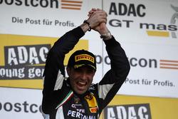 Race winner, #63 GRT Grasser-Racing-Team, Lamborghini Huracán GT3: Rolf Ineichen