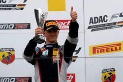Podium: third place Nicklas Nielsen, Neuhauser Racing