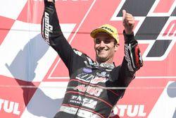 Podium: tweede Johann Zarco, Ajo Motorsport