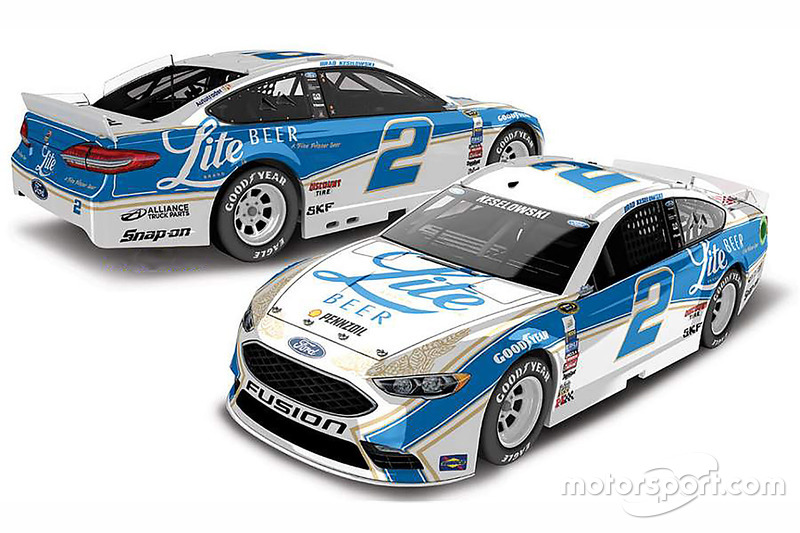 Throwback-Design von Brad Keselowski, Team Penske, Ford