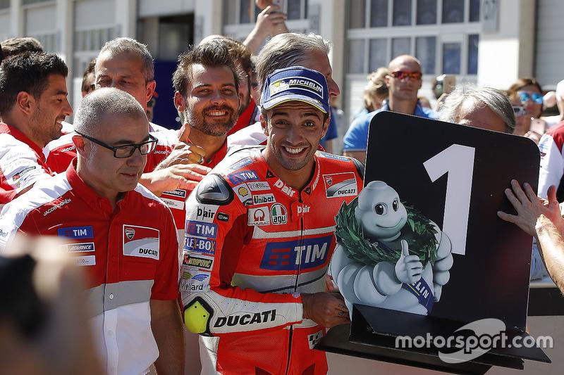 La última pole de Ducati en seco la logró Iannone en Austria 2016