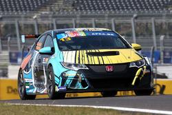Tiago Monteiro/Jean-Louis Dauger, Boutsen Ginion Racing, Honda Civic TCR