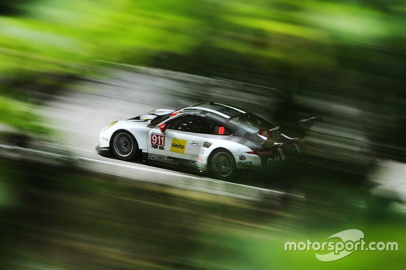 2. #911 Porsche Team North America Porsche 911 RSR: Nick Tandy, Patrick Pilet