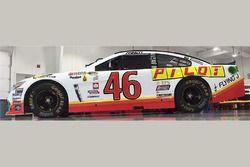 Michael Annett, HScott Motorsports Chevrolet special throwback scheme