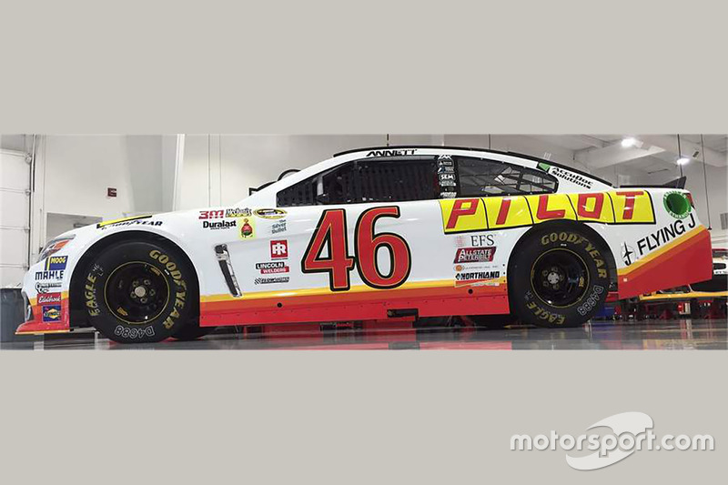Throwback-Design von Michael Annett, HScott Motorsports, Chevrolet