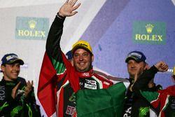 Podium LMP2: Filipe Albuquerque, #43 RGR Sport by Morand Oreca 05 - Nissan