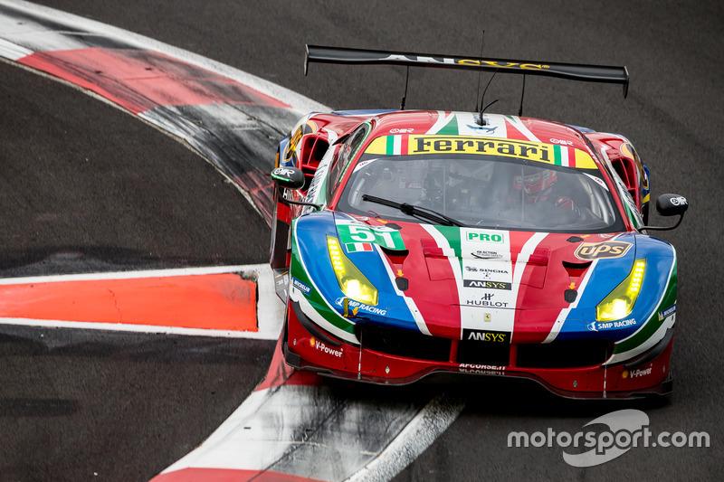 2. GTE-Pro: #51 AF Corse, Ferrari 488 GTE: Gianmaria Bruni, James Calado