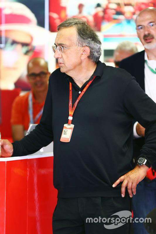Sergio Marchionne, Ferrari President y CEO de Fiat Chrysler Automobiles