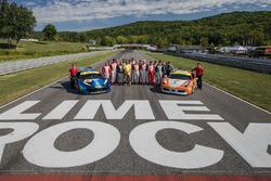 Foto de grupo de Ferrari Challenge