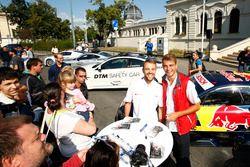 Jamie Green, Audi Sport Team Rosberg, Audi RS 5 DTM en Nico Müller, Audi Sport Team Abt Sportsline,