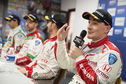 Press conference, Norbert Michelisz, Honda Racing Team JAS, Honda Civic WTCC