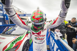 Winnaar Rob Huff, Honda Racing Team JAS, Honda Civic WTCC