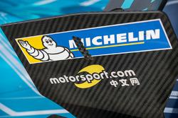 Formula E car detail