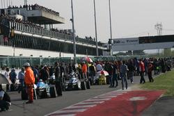 Race 4 starting grid