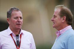 Martin Brundle, et Jonathan Palmer