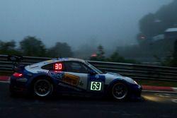 #69 Clickvers.de Team, Porsche 997 GT3: Robin Chrzanowski, Kersten Jodexnis, Marco Schelp, Peter Scharmach