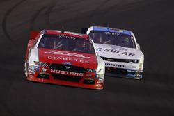 Ryan Reed, Roush Fenway Racing Ford, Brennan Poole, Chip Ganassi Racing Chevrolet