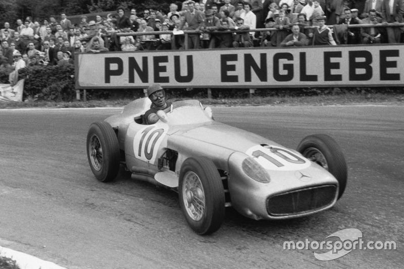 1955 Juan Manuel Fangio, Mercedes