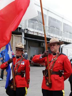 La police montée canadienne