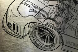 Motorsport.com ilustrador técnico Giorgio Piola ofrecen su diseño de 1974 MS670C Matra-Simca a Henri