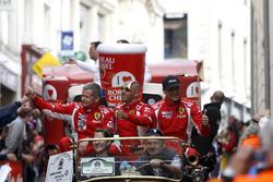 Франсуа Перродо, Эммануэль Коллар и Руи Агуаш, #83 AF Corse Ferrari 458 Italia