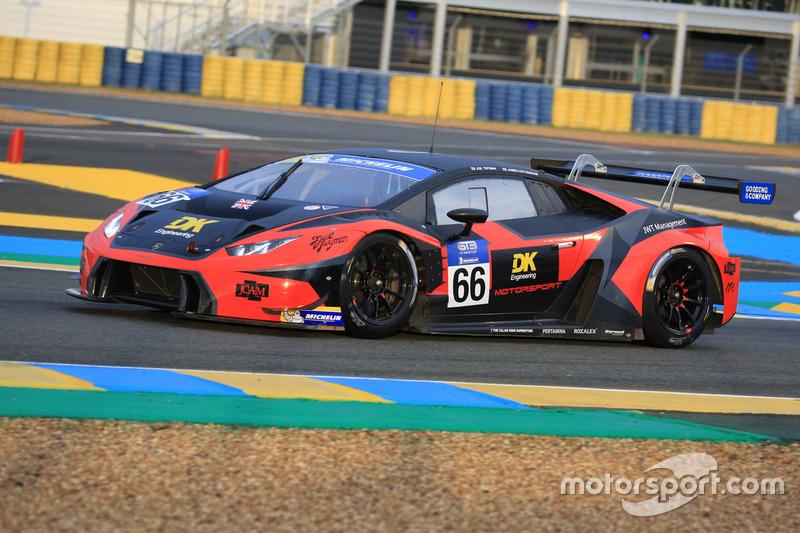 #66 Barwell Motorsport, Lamborghini Huracan GT3: Joe Twyman, James Cottingham