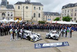 #31 Extreme Speed Motorsports, Ligier JS P2 Nissan: Ryan Dalziel, Chris Cumming, Pipo Derani; #30 Ex