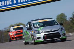 #35 Kinetic Motorsports Kia Forte Koup: Kris Wright