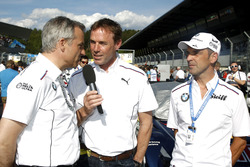 Jens Marquardt, BMW Motorsport Director with Dirk Adorf and Jörg Müller