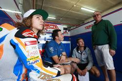 Remy Gardner, Tasca Racing Scuderia Moto2 and Wayne Gardner