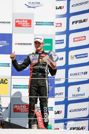 Rookie-Podium: 3. Anthoine Hubert, Van Amersfoort Racing Dallara F312, Mercedes-Benz