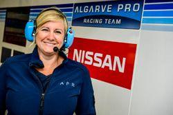 Samantha Cox, Team Manager Algarve Pro Racing Team