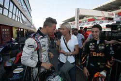 Diego Bertonelli, RB Racing and Giuliano Raucci, Diegi Motorsport with the medIa