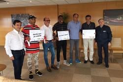 Pharrell Williams und Yohan Blake untertsützen #SaveKidsLives Kampagne