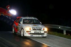 #58 Alexander Strobl, Kathi Schmid, Ford Escort Cosworth