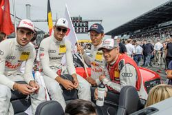 Miguel Molina, Audi Sport Team Abt Sportsline, Audi RS 5 DTM, Nico Müller, Audi Sport Team Abt Sportsline, Audi RS 5 DTM, Mattias Ekström, Audi Sport Team Abt Sportsline, Audi A5 DTM, Edoardo Mortara, Audi Sport Team Abt Sportsline, Audi RS 5 DTM
