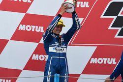 Podium : le deuxième, Fabio Di Giannantonio, Gresini Racing Team Moto3