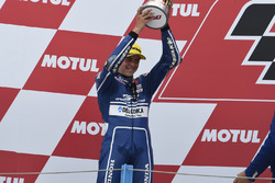 Podium: second place Fabio Di Giannantonio, Gresini Racing Team Moto3