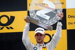 Podio: il secondo classificato Tom Blomqvist, BMW Team RBM, BMW M4 DTM