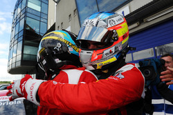 1. Pepe Oriola, SEAT Leon, Craft Bamboo Racing LUKOIL; 3. James Nash, SEAT Leon, Team Craft-Bamboo L