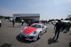 La Porsche 911 GT3 CUP #7 di Giovesi Kevin Iaquinta Simone, Ghinzani Arco Motorsport - Milano